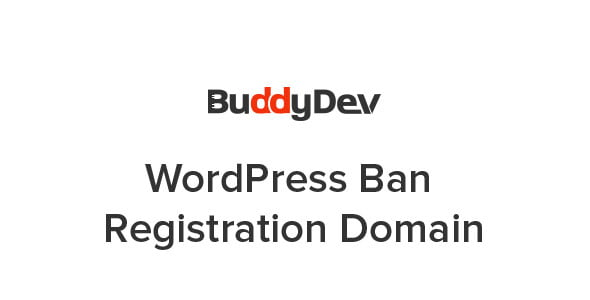 Plugin WordPress Ban Registration Domain - WordPress