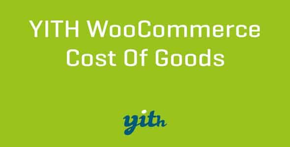 Plugin Yith Cost of Goods for WooCommerce - WordPress