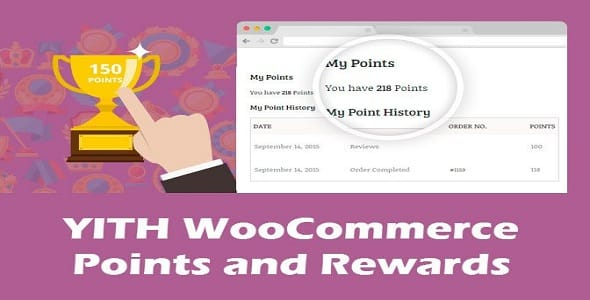 Plugin Yith WooCommerce Points and Rewards - WordPress