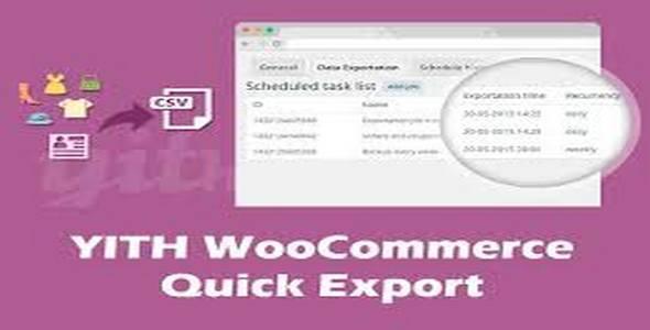 Plugin Yith WooCommerce Quick Export - WordPress