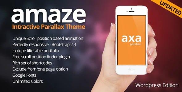 Tema Amaze designova - Template WordPress
