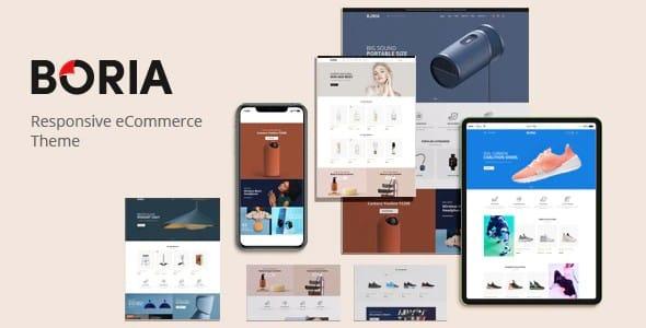 Tema Boria - Template WordPress