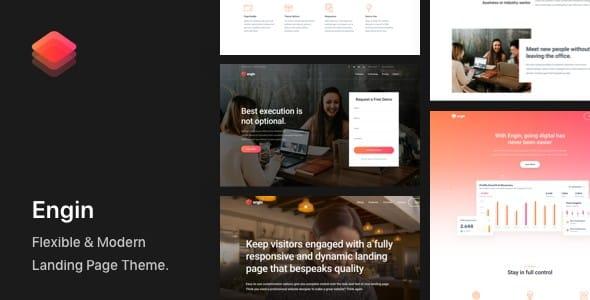 Tema Engin - Template WordPress