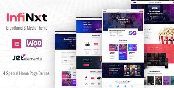 Tema Infinxt - Template WordPress