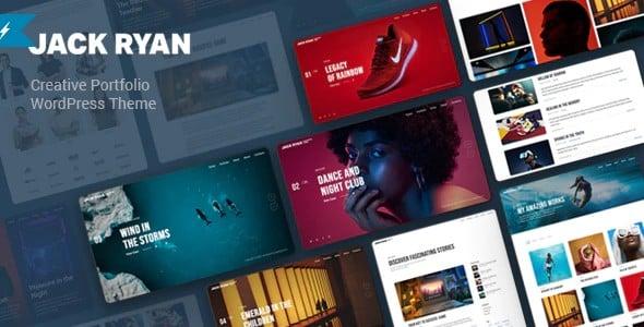 Tema Jack Ryan - Template WordPress