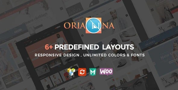 Tema Orianna - Template WordPress