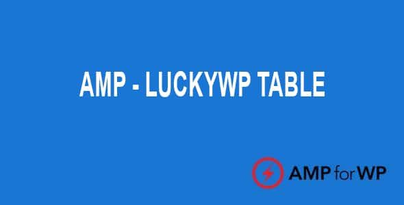Plugin Amp LuckyWP Table of Contents - WordPress