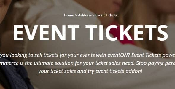 Plugin EventOn Event Tickets - WordPress