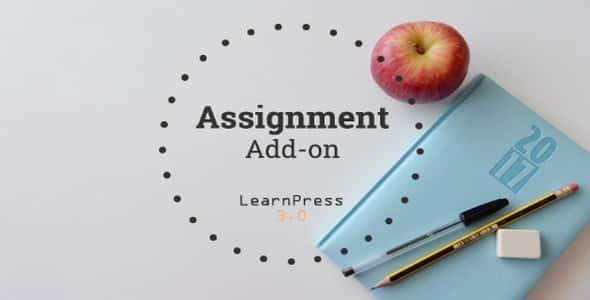 Plugin LearnPress Assignments - WordPress