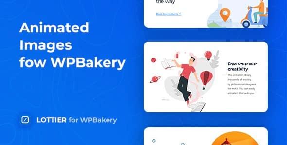 Plugin Lottier for WpBakery - WordPress