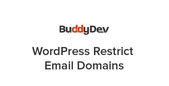 Plugin WordPress Restrict Email Domains - WordPress