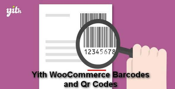 Plugin Yith WooCommerce Barcodes and Qr Codes - WordPress