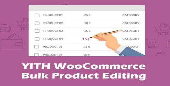 Plugin Yith WooCommerce Bulk Product Editing - WordPress