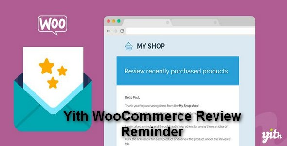 Plugin Yith WooCommerce Review Reminder - WordPress