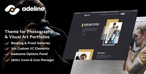 Tema Adeline - Template WordPress