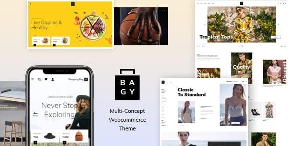 Tema Bagy - Template WordPress