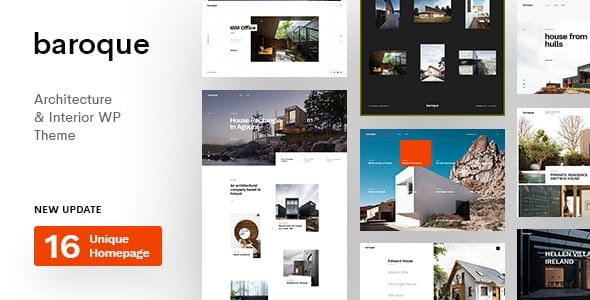 Tema Baroque - Template WordPress