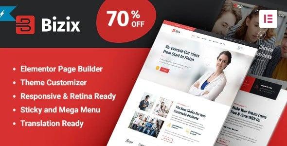 Tema Bizix - Template WordPress