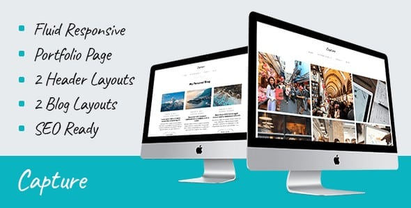 Tema Capture - Template WordPress