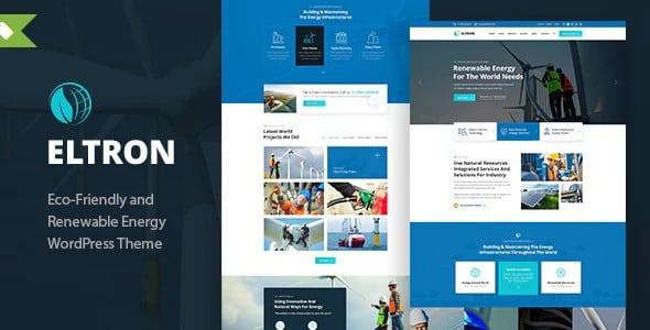 Tema Eltron - Template WordPress