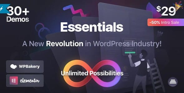Tema Essentials - Template WordPress