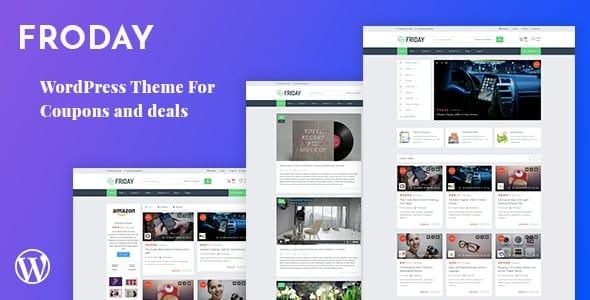 Tema Froday - Template WordPress