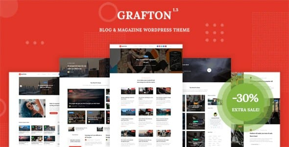 Tema Grafton - Template WordPress