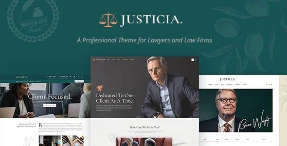 Tema Justicia - Template WordPress