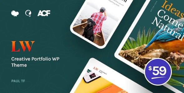 Tema Lewis - Template WordPress