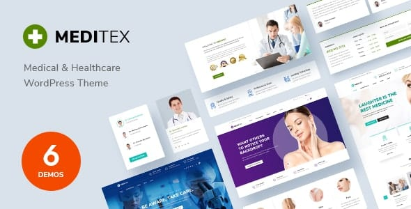 Tema Meditex - Template WordPress