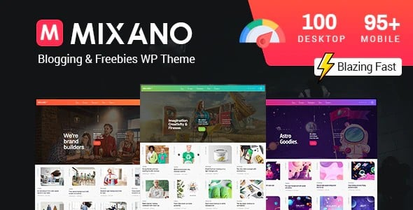 Tema Mixano - Template WordPress