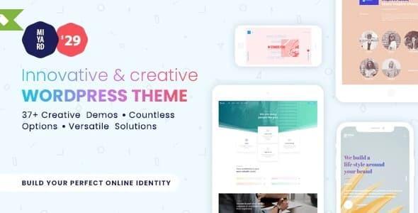 Tema Myriad - Template WordPress