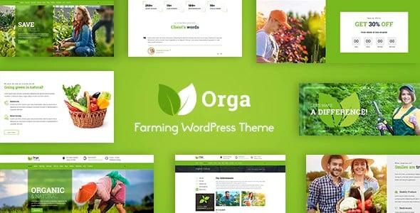 Tema Orga - Template WordPress
