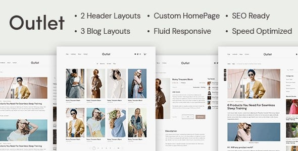 Tema Outlet - Template Outlet