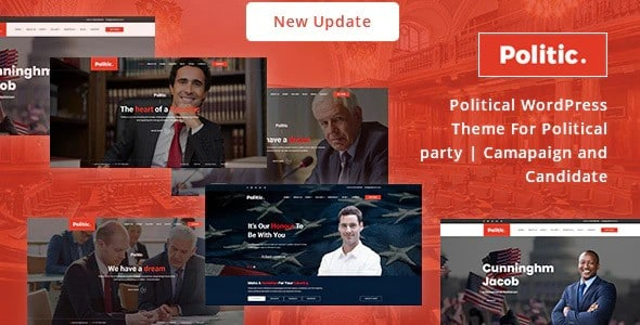 Tema Politic - Template WordPress