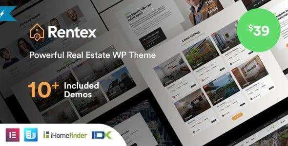 Tema Rentex - Template WordPress