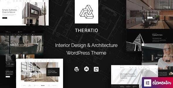 Tema Theratio - Template WordPress