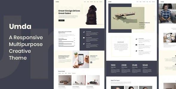Tema Umda - Template WordPress