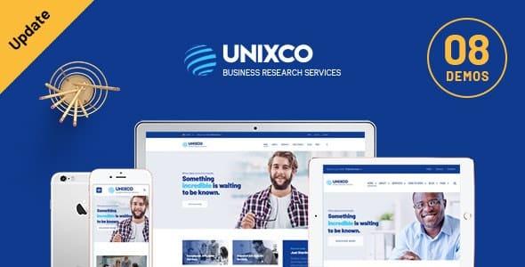 Tema Unixco - Template WordPress