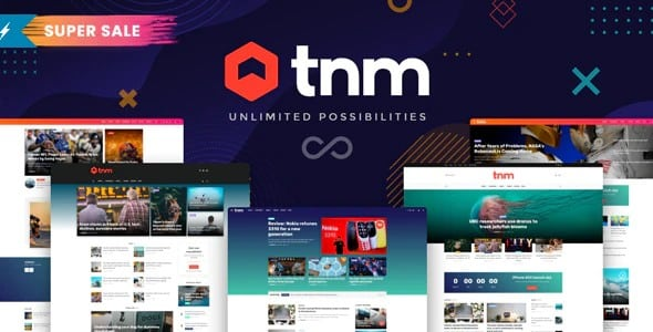 The Next Mag Ecommerce - Template WordPress