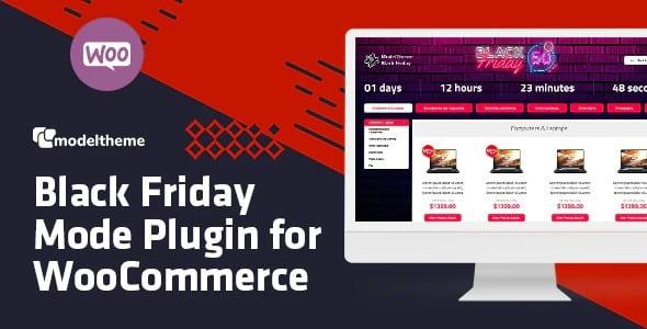 Plugin Black Friday Cyber Monday Mode for WooCommerce - WordPress