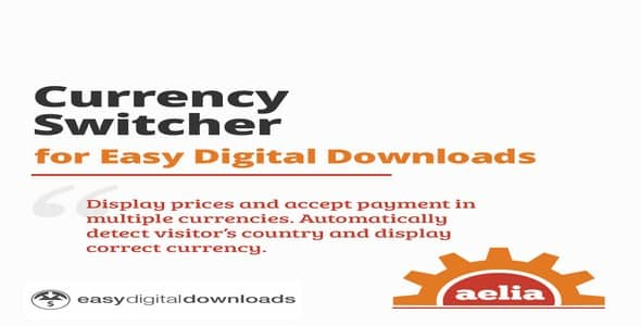 Plugin Currency Switcher for Easy Digital Downloads - WordPress