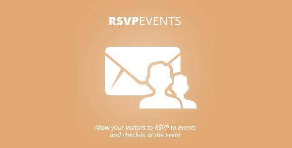 Plugin EventOn Rsvp Events - WordPress