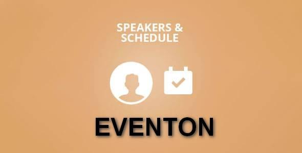 Plugin EventOn Speakers Schedule - WordPress