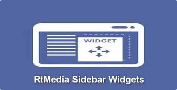 Plugin RtMedia Sidebar Widgets - WordPress