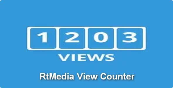 Plugin RtMedia View Counter - WordPress
