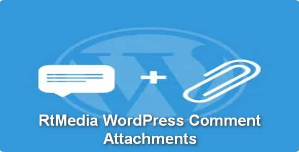 Plugin RtMedia WordPress Comment Attachments - WordPress
