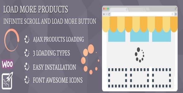 Plugin WooCommerce Load More Products - WordPress