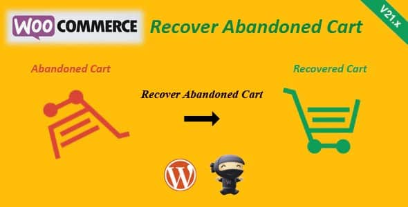 Plugin WooCommerce Recover Abandoned Cart - WordPress