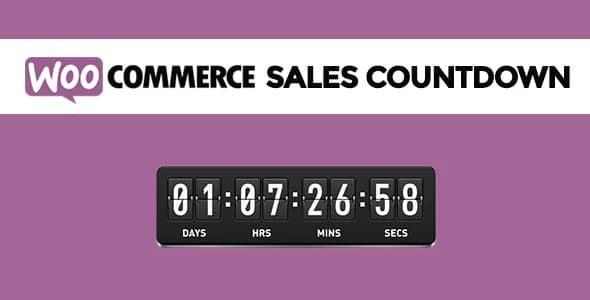 Plugin WooCommerce Sales Countdown - WordPress